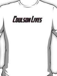 Coulson Lives (3D Effect) T-Shirt