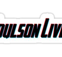 Coulson Lives (3D Effect) Sticker