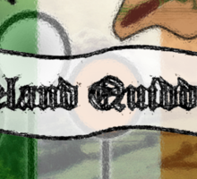 Ireland Quidditch Sticker