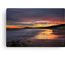 Friday the 13th Sunset. Canvas Print