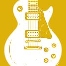 Les Paul Gold Top by Jason Jeffery