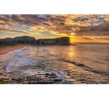 Glory - Avalon Beach, Sydney Australia - The HDR Experience Photographic Print