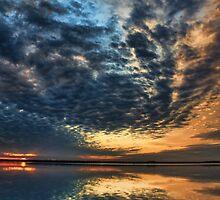 Sundown Swirls by Carolyn  Fletcher