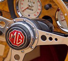 Behind the Wheel - An MGA Sports Car by vivsworld