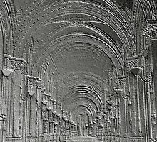 Deep perspective in a bas-relief by bubblehex08