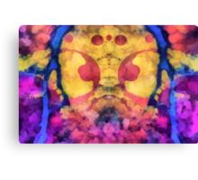 Rorschach ~ Gas Mask Canvas Print