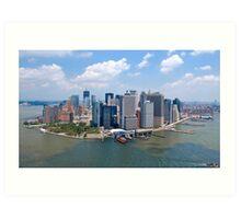 Manhattan - New York Art Print