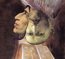 Portrait of Van Gogh 10. by - nawroski -