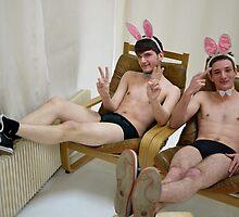 Bunny Boys !!! by homopunkdotcom