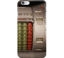 Abstract numbers for your iPhone iPhone Case/Skin