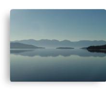MAGIC MORNING ON FLATHEAD LAKE, MT Canvas Print