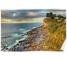 Location Location - Avalon Headland , Sydney - The HDR Experience Poster
