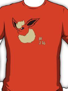 Pokemon 136 Flareon T-Shirt