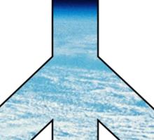 Peace - space. Sticker