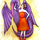 Purple Dragon by Katherine Appleby