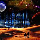 Phantom City on the 13th Moon of Gernia by Nadya Johnson