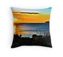 HDR Fijian Sunset Throw Pillow