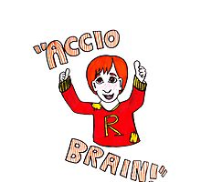 Accio Brain! -Ron Weasley Photographic Print
