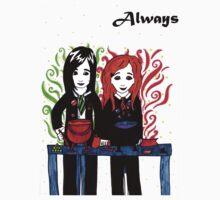 Severus Snape & Lily Evans ~ Always. Kids Clothes