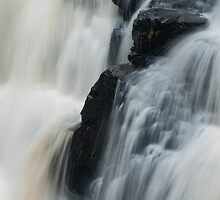 Falls of Clyde, New Lanark, Scotland by Cliff Williams