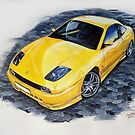Fiat coupe  by braik tiberiu alexandru