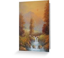 Hobbit's Adventure (Set For A Fall) Greeting Card