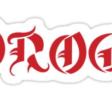Dothraki On (Dio /  Khal Drogo Shirt) Sticker