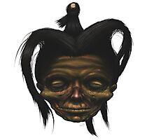 Shrunken Head Photographic Print