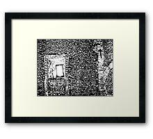 House of Bones  Framed Print