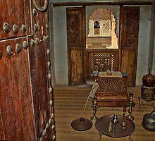 Morocco. Marrakech. Ben Youssef Medersa. Student's room. by vadim19