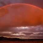Rainbow in low light..... by Robbie Knight