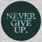 Never Give Up by Jodenicole