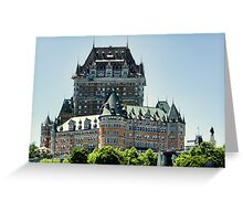 Le Chateau Greeting Card
