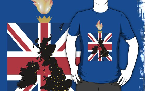 Olympics 2012 - Team GB T-Shirt by DanielBevis
