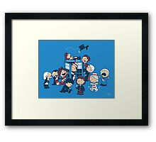 Who is nuts? Framed Print