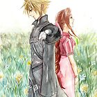 Cloud + Aeris by meomeo