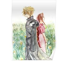 Cloud + Aeris Poster