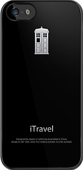 Dr Who - iTravel - Black by CalumCJL