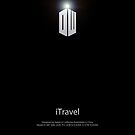 Doctor Who - iTravel - Black by CalumCJL
