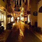 nightime in Foss Street by markm1892
