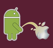 ANDROID VS APPLE by mhmttunceroglu