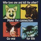 Go Veg for Life by J. Stoneking