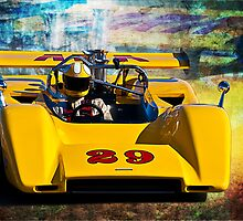 1971 McLaren M8E Can-Am by Stuart Row