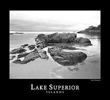 Lake Superior Islands #2 by perkinsdesigns