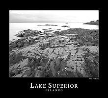 Lake Superior Islands #1 by perkinsdesigns