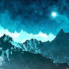 Outer Space Mountains by perkinsdesigns
