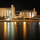 Wallaroo Silo's at Night by Stuart Daddow Photography