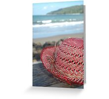 pangandaran beach Greeting Card