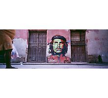 Che Guevara graffiti. Photographic Print