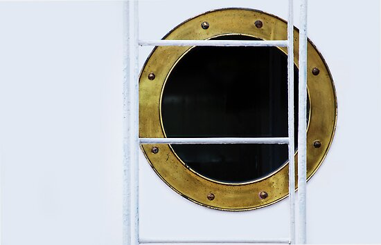 Porthole & Ladder by Laurie Minor